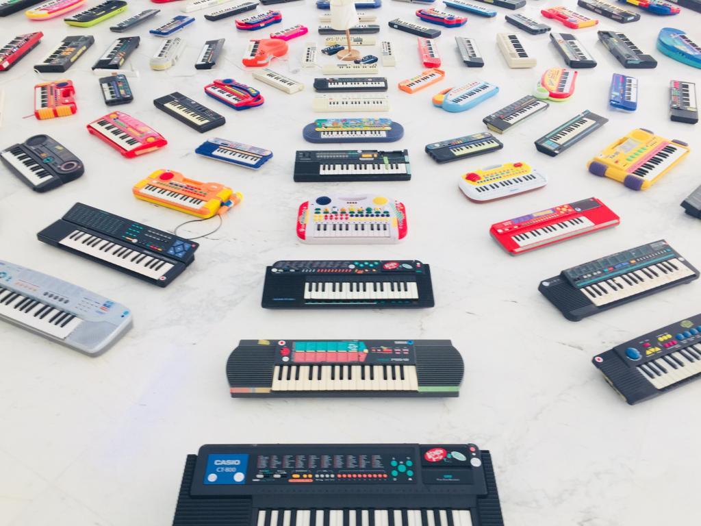WOS Festival keyboards cgac