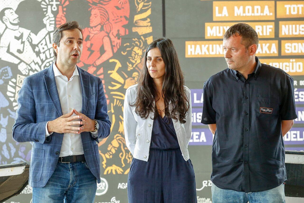 Jacobo Sutil da Agadic na presentacion do festival SonRias Baixas 2019