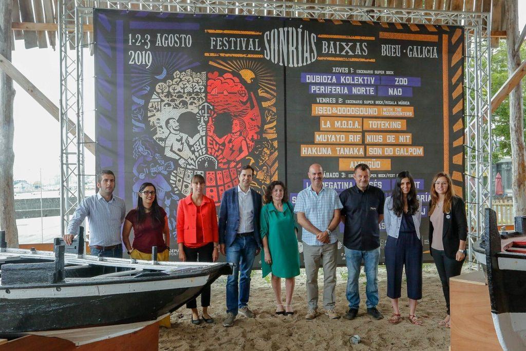 Presentacion do festival SonRias Baixas 2019