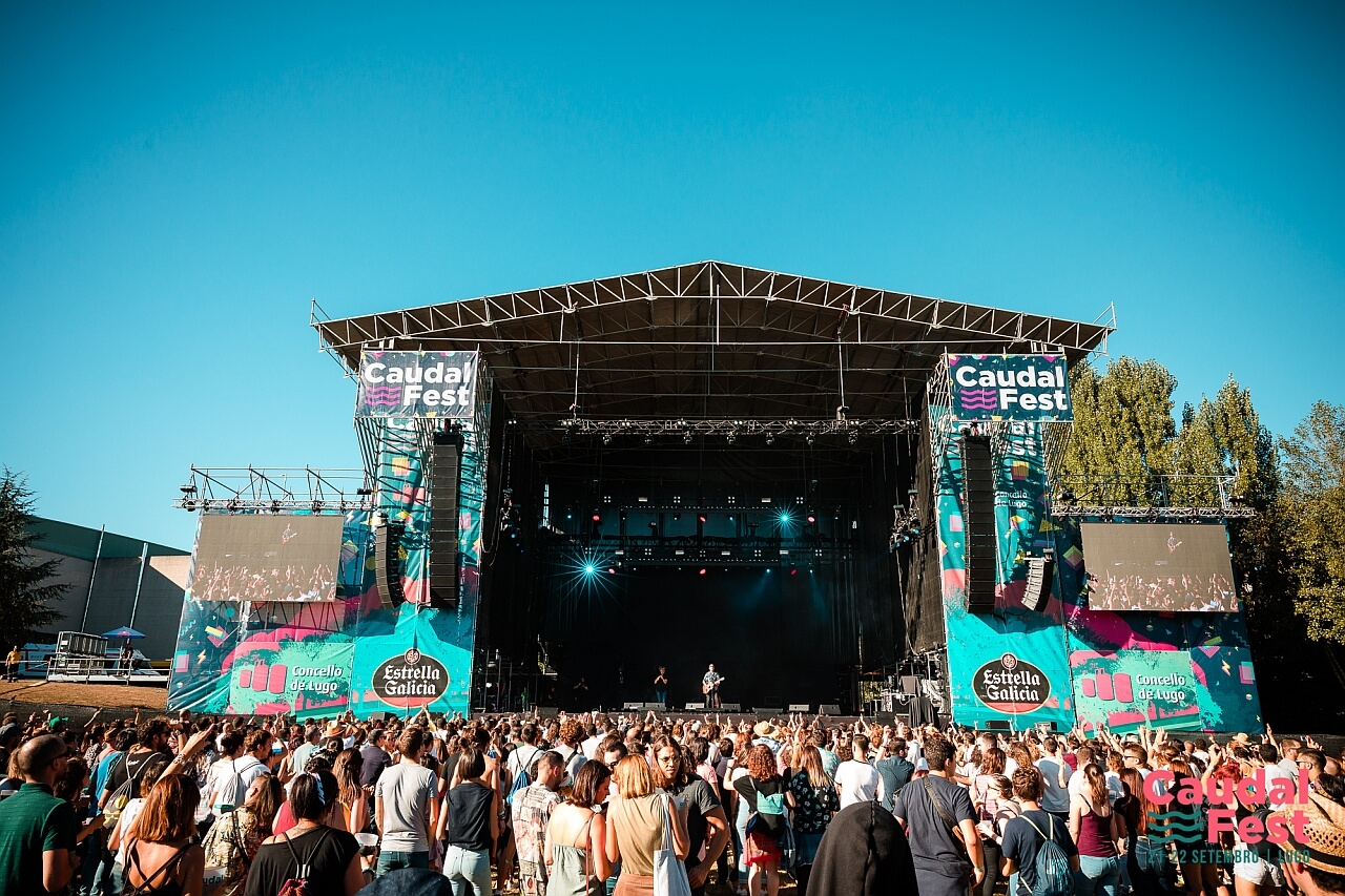 Caudal Fest 2018 escenario principal