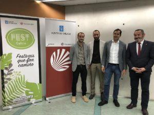 presentacion estudo impacto 17º Ribeira Sacra 2019 Fest Galicia