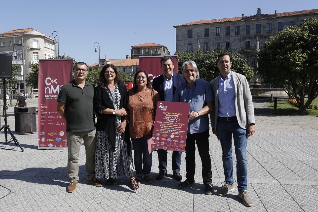presentacion festival cantos na mare 2019 pontevedra