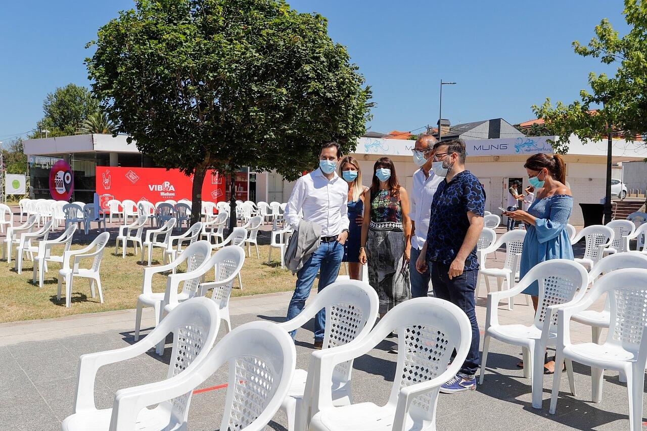Jacobo Sutil na súa visita ao Vive Nigran 2020 - Fest Galicia
